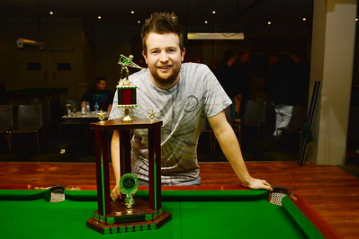 2016 Riverland Berri Hotel 8Ball Winner  Nick Young