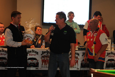 Mark Stone (centre) receiving runner-up trophy from Berri Resort manager(left) and event organiser (Right)