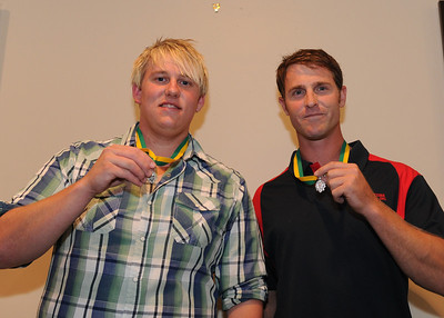 """""""A"""" Grade BEST AND FAIREST Tim Golding (Barmera) and Nick Kuhn (Berri)  TIED"""