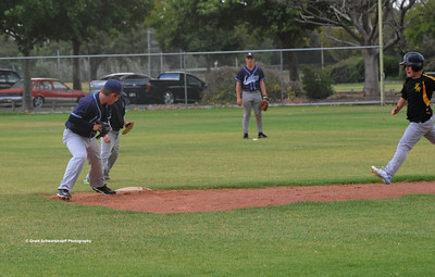Jeremy Musolino (Loxton) out on 2nd base