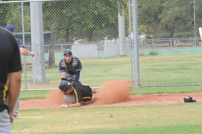 Matt Voigt (Loxton) sliding home