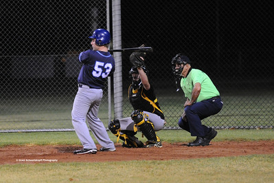 Ben Clavell (Barmera) batting Todd Andrews (Loxton) catcher