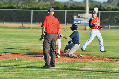 Jordan Walker (Barmera) safe at 2nd