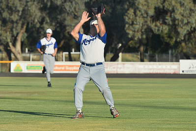 Alan Selfe (Renmark) waits to take the catch