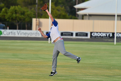 Dylan Blackley (Renmark) waits to take the catch