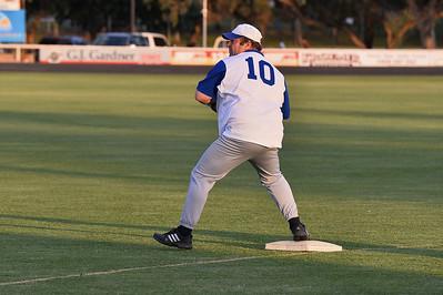 Darren (Chook) Letton on 1st base