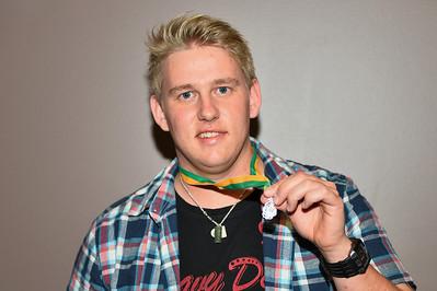 """""""A"""" Grade Best and Fairest winner 2013/2014  Tim Golding (Barmera)"""