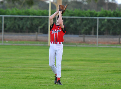outfield catch by Peter Moritz (Berri)