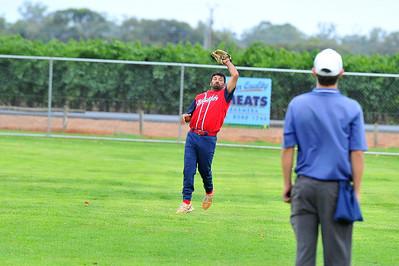 outfield catch by Kenny Karpany Snr (Berri A)