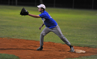 Michael Rover (Renmark B ) on 1st base