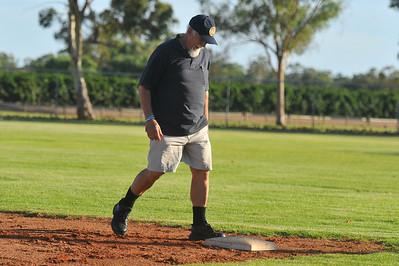 """""""Sarge"""" at 1st base"""