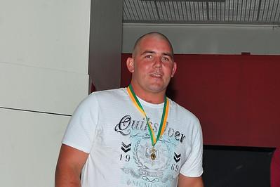 R.B.L. Senior Best and Fairest Award 2012/2013 Winner Dave Grenfell (Renmark)