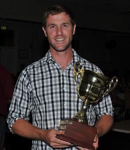 R.B.L. Steve Taylor Memorial Trophy Home Runs Nick Kuhn (Berri)