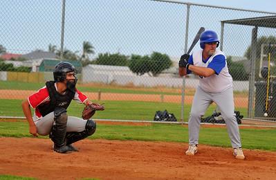 Shane Healy (Renmark) at bat