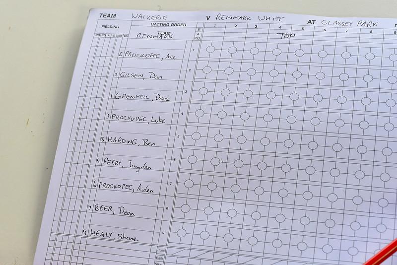 """Riverland Baseball  """"A"""" Grade Renmark v Waikerie"""