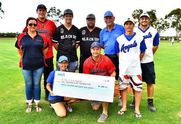 "Cheque Presentation to ""Make A Wish Foundation"""