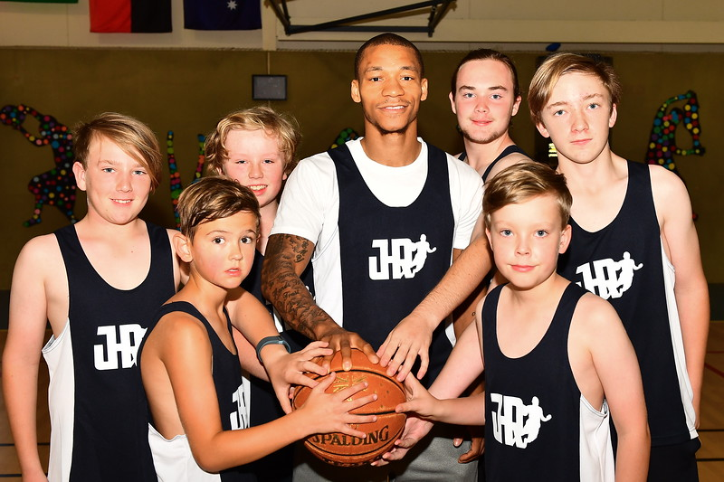 Adelaide 36's Jerome Randle Coaching Clinic in Loxton
