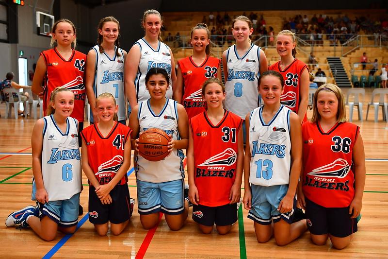 """U14"" Girls teams for first game in Berri Stadium"