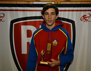 2014 Rob Lehmann Best 1st Year Player Award, Lee Verrall (Lyrup)