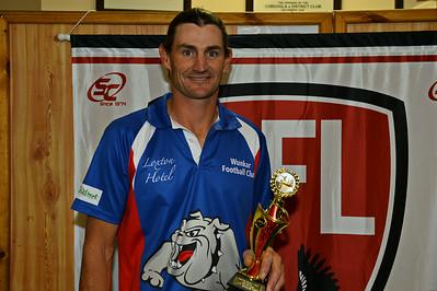 Nippys 2014 Goal kicking award:  Shane Schulz (Wunkar)