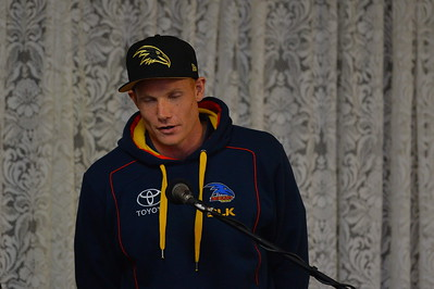 2015 Guest speaker Sam Jacobs (Adelaide Crows)