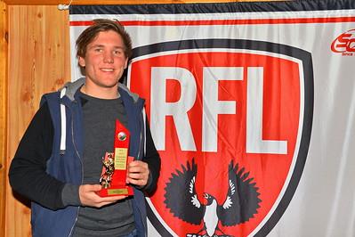2015 Rob Lehmann Best 1st Year Player Award. Bailey Heinrich (Wunkar)