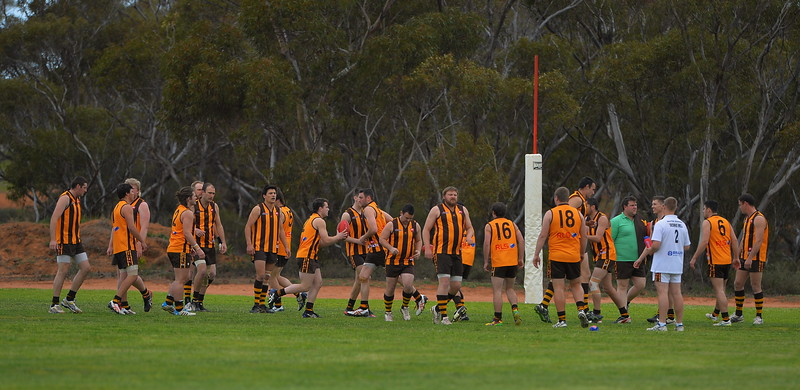 """A"" Grade Prelim Final Brownswell v Ramco (At Wunkar)"