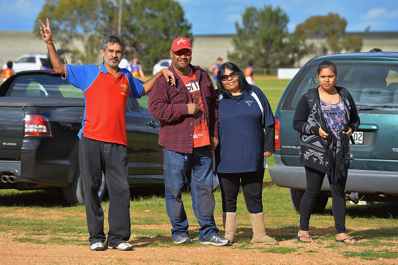 Lyrup Supporters at Wunkar