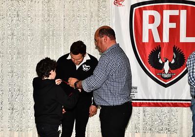 Riverland Independent football Riverland Football League 2018 Duthie Medal winner Hayden Lofts, Sedan-Cambrai
