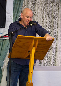 Guest speaker Andrew Jarman