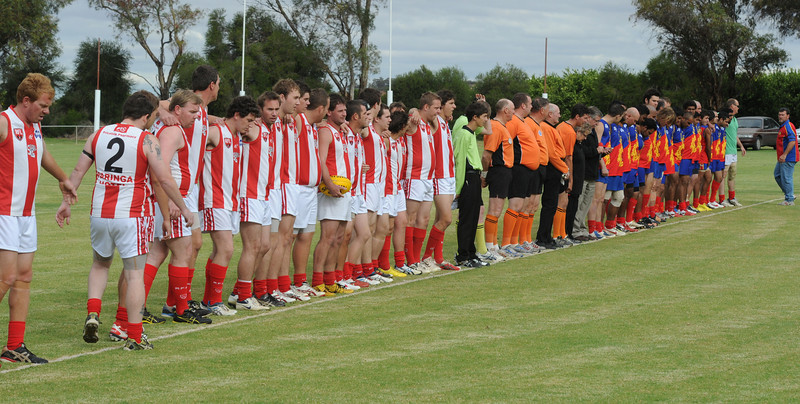 Round 3 ANZAC DAY Sat April 25 2012