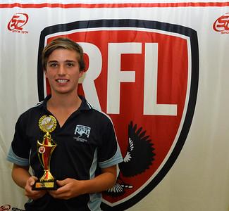 2014 U18 Leading Goalkicker:  Brodie Kollmann (Barmera)