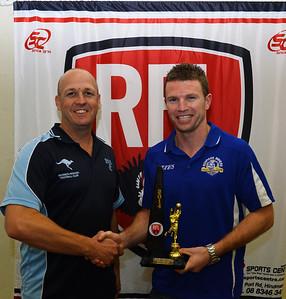 Riverland Footballer of the Year, Trevor Thorpe (Renmark)