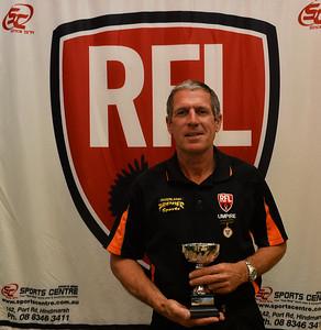 2014 RFL Umpires Award, Silver Whistle Winner, Tony Florence