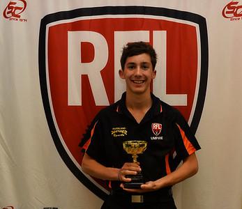 2014 RFL Umpires Award, Golden Whistle winner, Jordan Wright