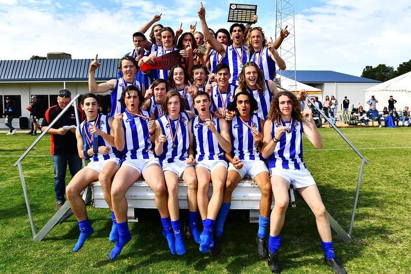 2017 U18 Premiership team photo Renmark