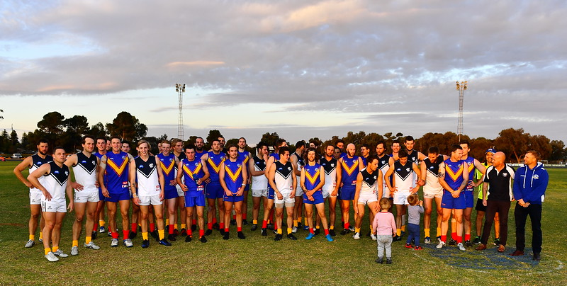 Renmark Rovers Charity Game After the Siren.