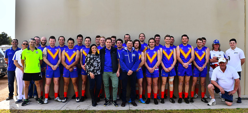 Renmark and Loxton North Jumpers for Charity Game