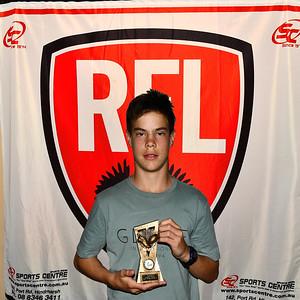"""U13"" Best & Fairest Runner-Up, Lucas White ( Renmark Rovers Football Club  )"