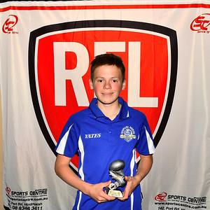 """U15' Leading Goal Kicker Award winner, Judd Hansen (Renmark Rovers Football Club )"