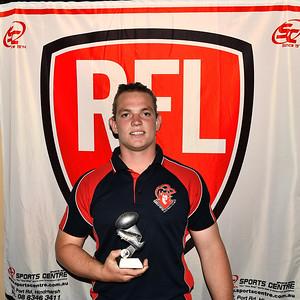 """U18"" Leading Goal Kicker, Reece Lehmann  (Berri Football Club )"