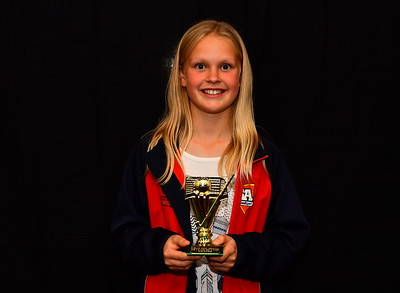 "Riverland Hockey 2018 Trophy Presentation Night from Waikerie Hotel ""U12"" Mixed Best Player Elise Schaefer"
