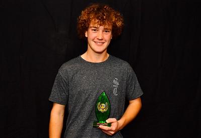 Riverland Hockey 2018 Trophy Presentation Night from Waikerie Hotel U18 Men Best & Fairest Joel Hopper (Loxton Hockey Club)
