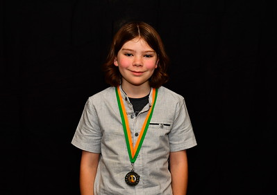 "Riverland Hockey 2018 Trophy Presentation Night from Waikerie Hotel ""U12"" Mixed Runner-Up Tayte Botten"