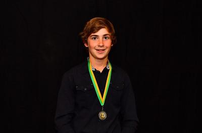 Riverland Hockey 2018 Trophy Presentation Night from Waikerie Hotel U15 Men Best & Fairest Runner-Up, Kyton Raynor