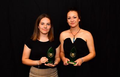 Riverland Hockey 2018 Trophy Presentation Night from Waikerie Hotel U18 Women Best & Fairest Tied for the honour Christina Glekas (Renmark Hockey Club) and Justice Ebert (WAIKERIE HOCKEY CLUB)