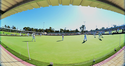In the heat, bowls goes on
