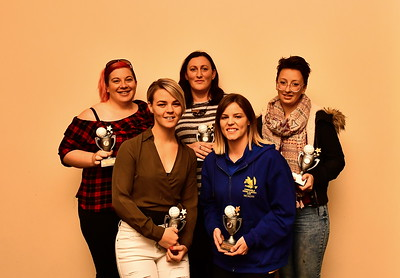 """Riverland Independent Netball, 2018 """"B"""" Grade Team of the Year."""