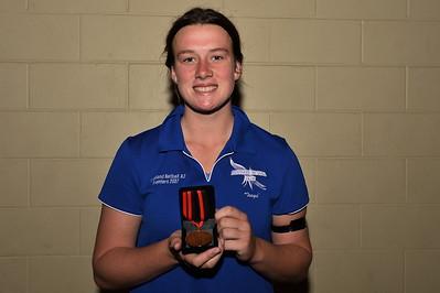 Winner of the ANZAC Medal for 2015, Sophie Croft (Renmark)