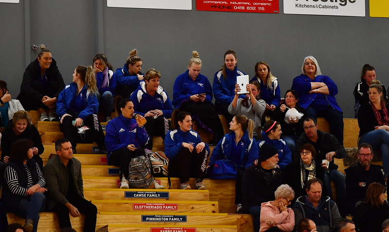 Renmark A1 and A2 watch the Semi Final before playing